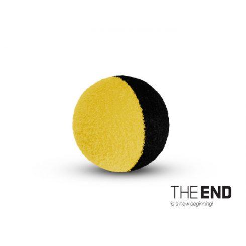 Delphin THE END ZIG RIG csali fekete/sárga 12mm (10db/csomag)