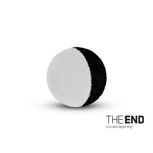 Delphin THE END ZIG RIG csali fekete/fehér 15mm (10db/csomag)