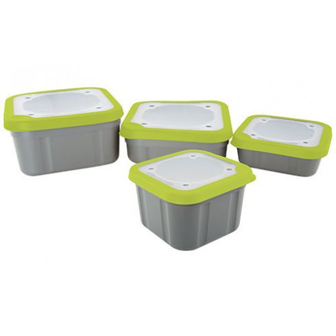 Matrix3.3pt Grey/Lime Bait Box Solid Top