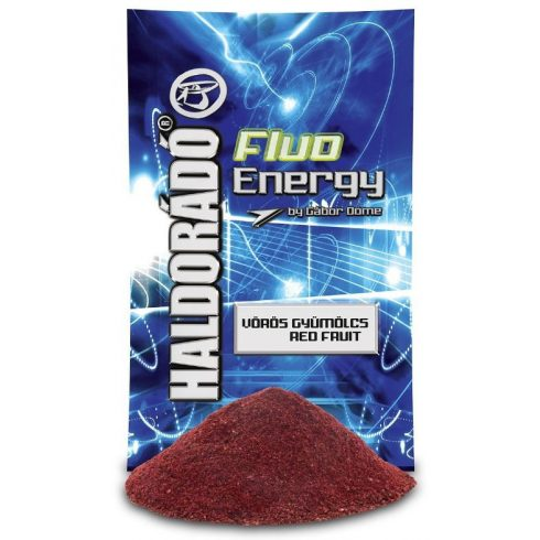 Haldorádó Fluo Energy-Vörös Gyümölcs